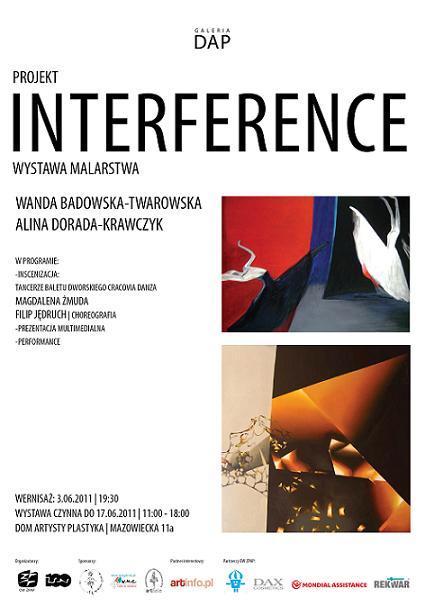Plakat Interference